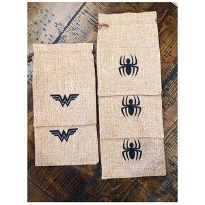 Other - Spider-Man & Wonder Woman Goodie Bags